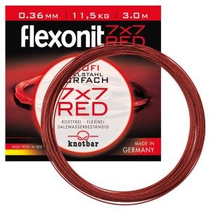 flexonit Stahlvorfach 7x7 Red bei der Cebbra GmbH